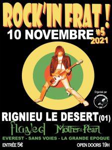 Affiche Rock In Frat